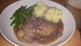 Coq Au Vin Sunday Lunch